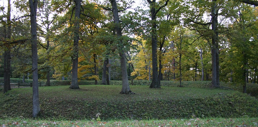 The Great Mound, Mounds State Park.