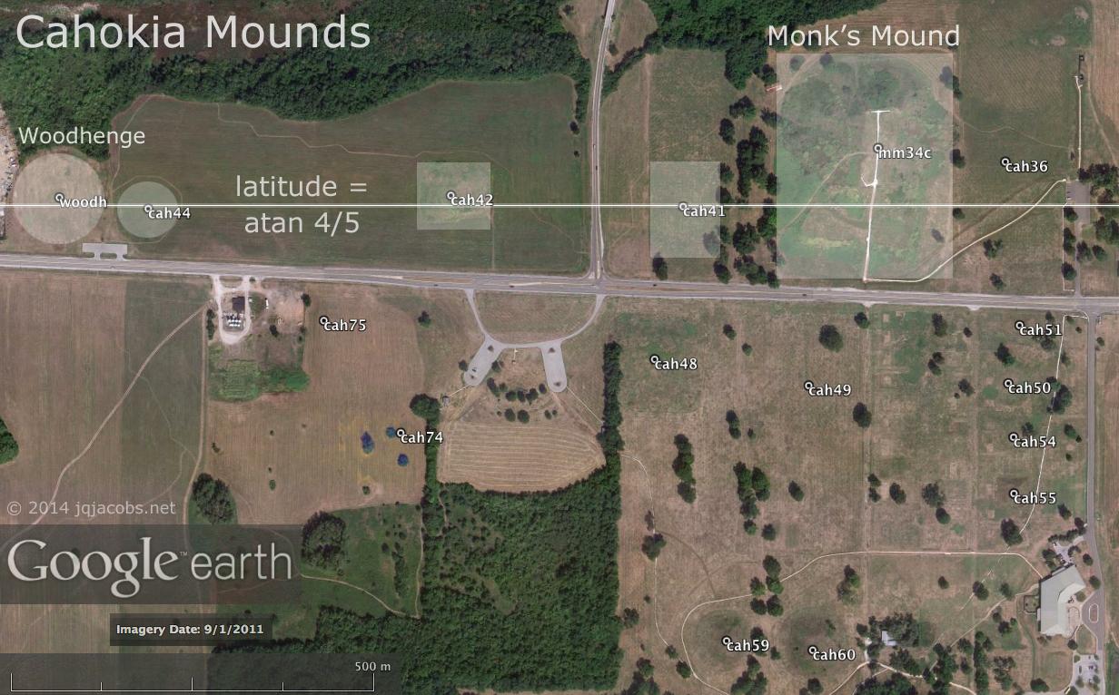 Cahokia Mounds, a Photo Gallery and Description