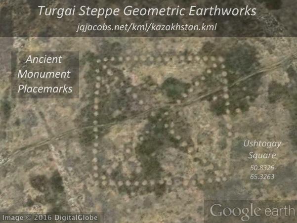 Turgai Geoglyphs