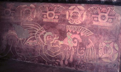 Teotihuacan mural art assessing the accuracy of its for Aztec mural painting