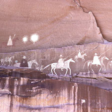 Navajo Pictograph of the Narbona Expedition
